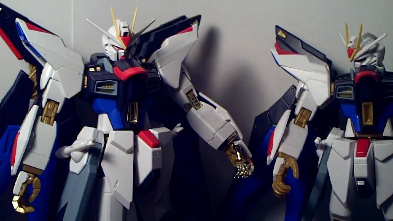 pg strike freedom bandai review