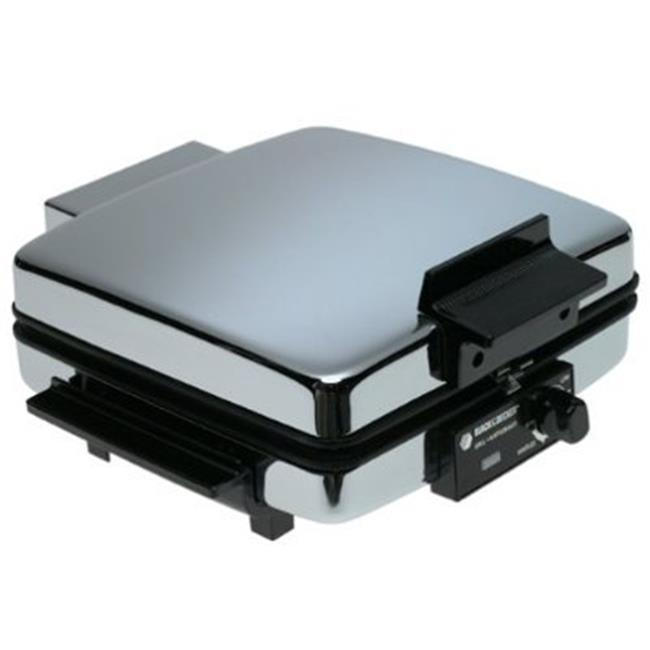 black and decker waffle iron reviews