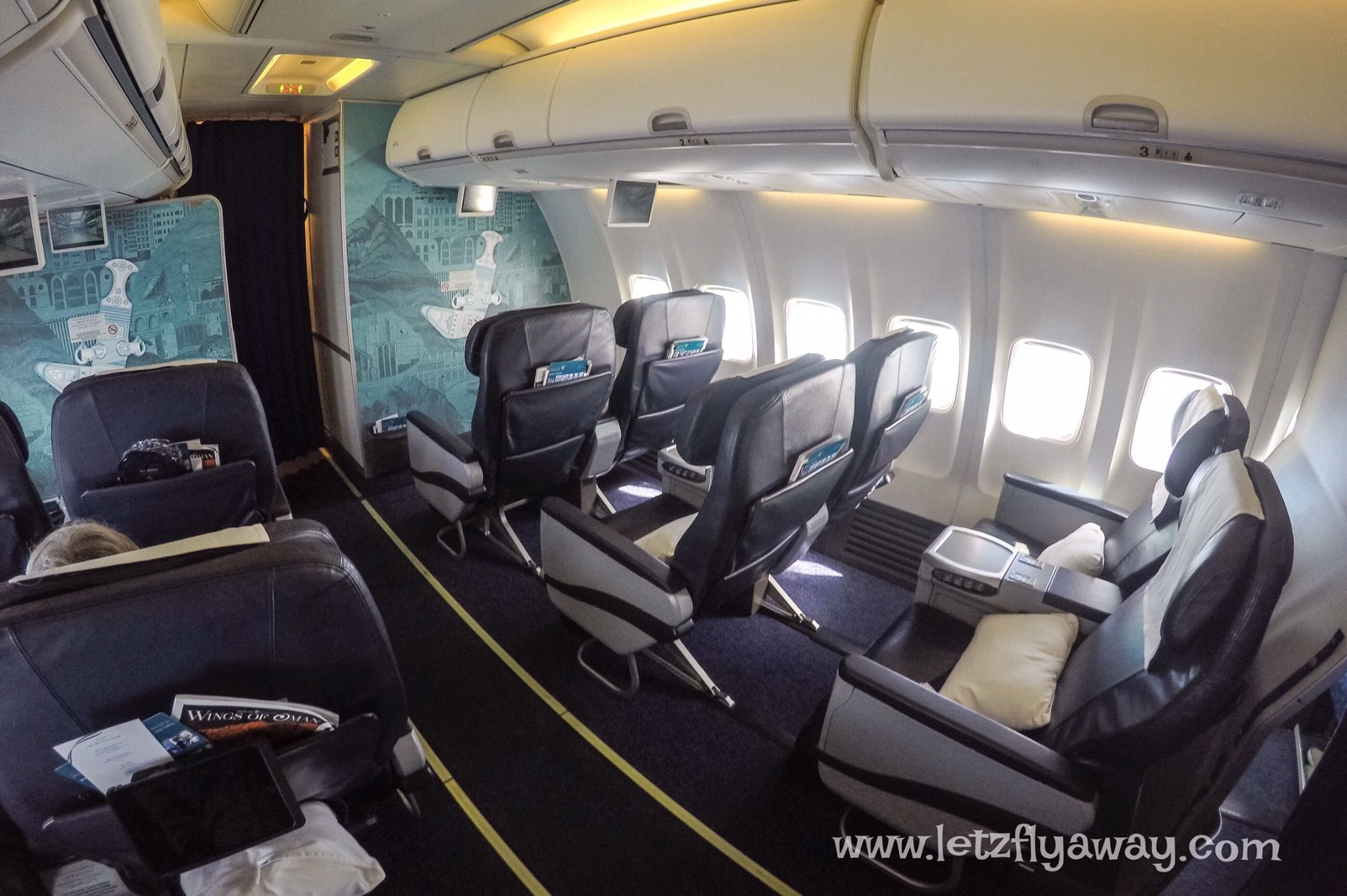 oman air 737 800 business class review