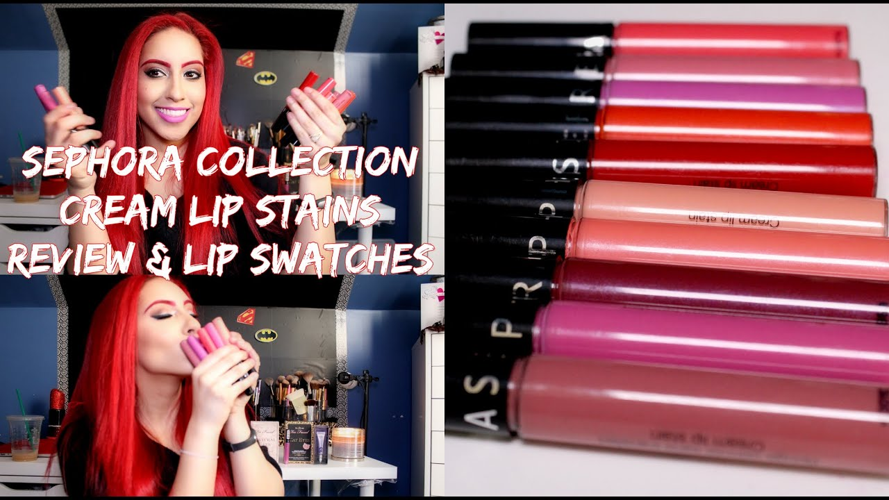 sephora collection cream lip stain review